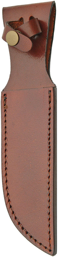 SH1162 Brown Leather Knife Sheath 6 Inch