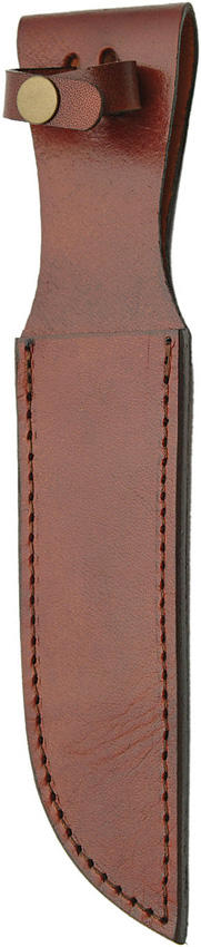 SH1163 Brown Leather Knife Sheath 7 Inch