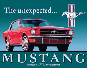 TSN0579 Tin Sign - Ford Mustang
