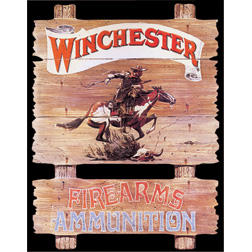 TSN0939 Tin Sign - Winchester Express Rider
