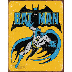 TSN1357 Tin Sign - Batman - Retro