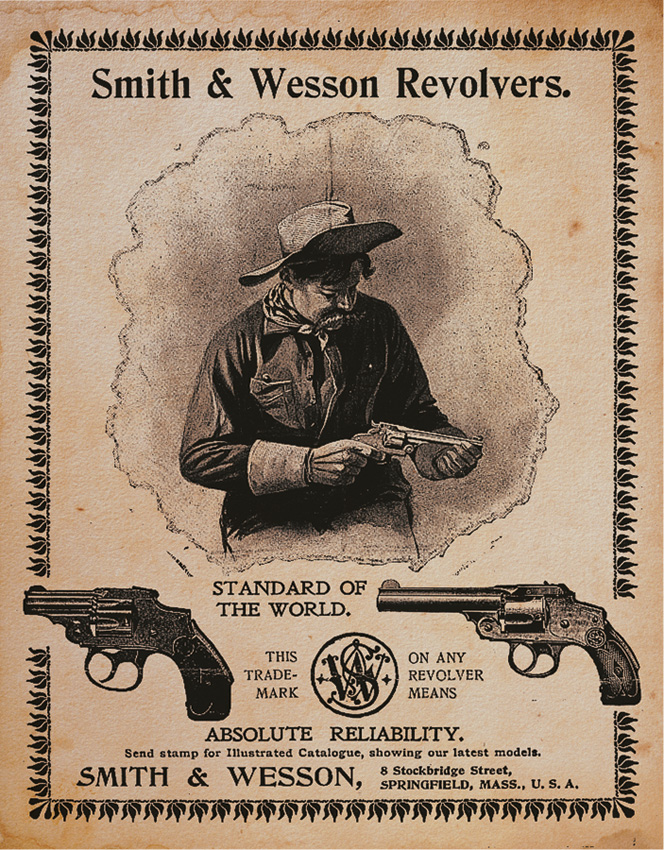 TSN1464 Tin Sign - Smith & Wesson
