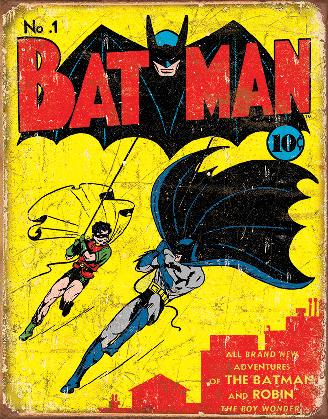 TSN1966 Tin Sign - Batman #1 Cover