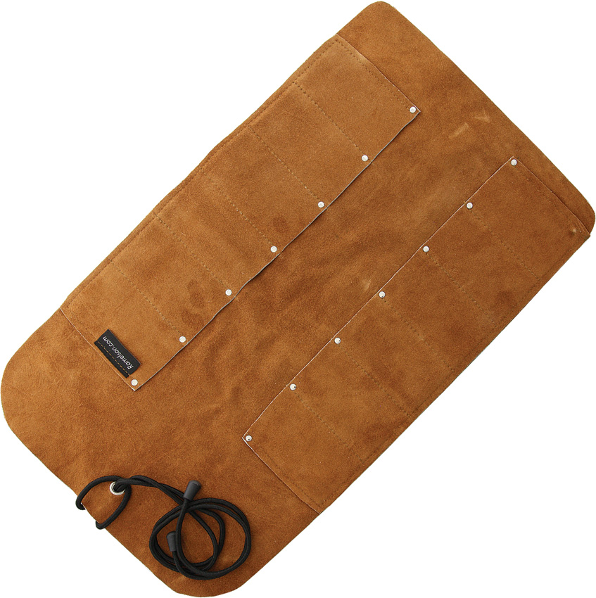 UJ02 UJ Ramelson 12 Pocket Leather Tool Roll