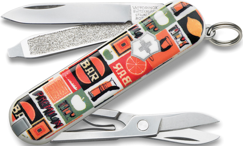 VN06223L1101 Victorinox Classic Happy Hour Pocket Knife