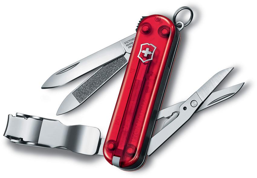Vn06463t Victorinox Nail Clip 580 Pocket Knife