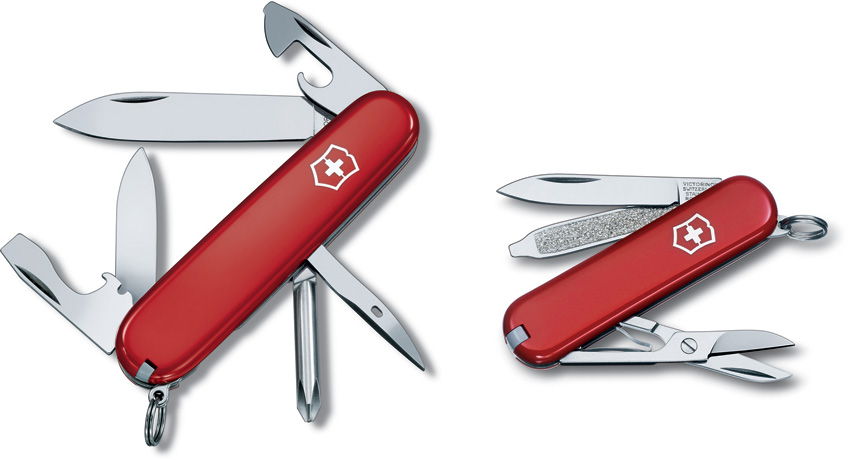 VN57057 Victorinox Tinker and Classic Pocket Knife Combo