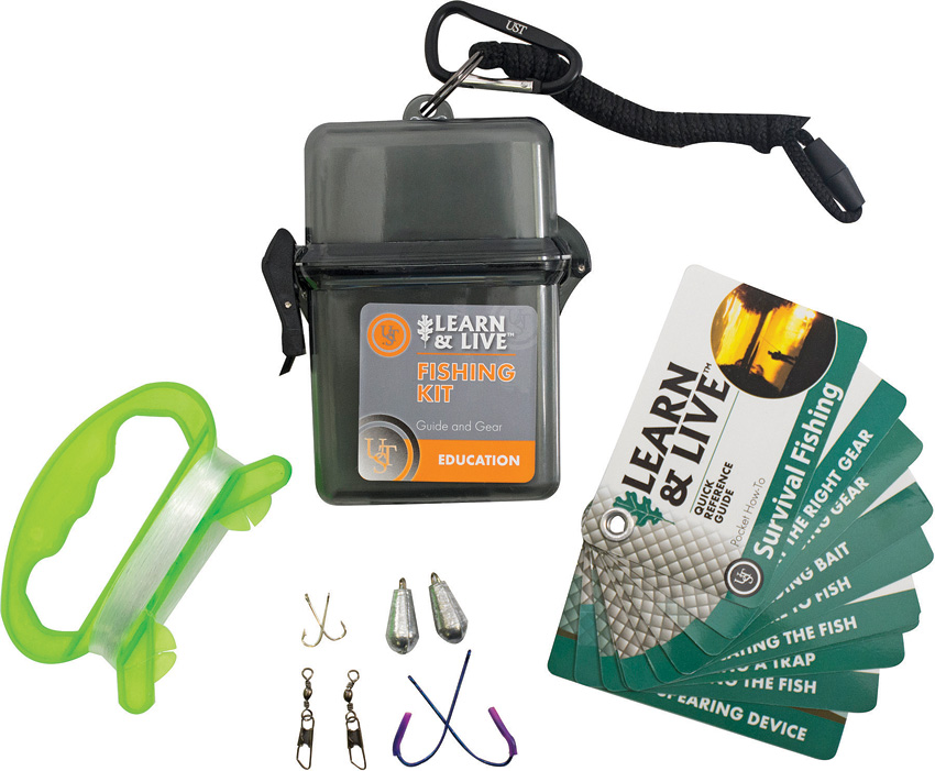 WG02765 UST Learn & Live Kit Fishing