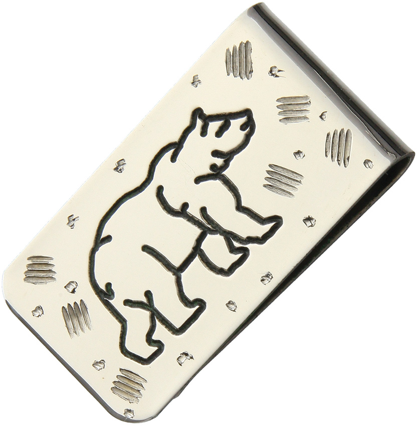 YH220 Yellowhorse Custom Money Clip Bear