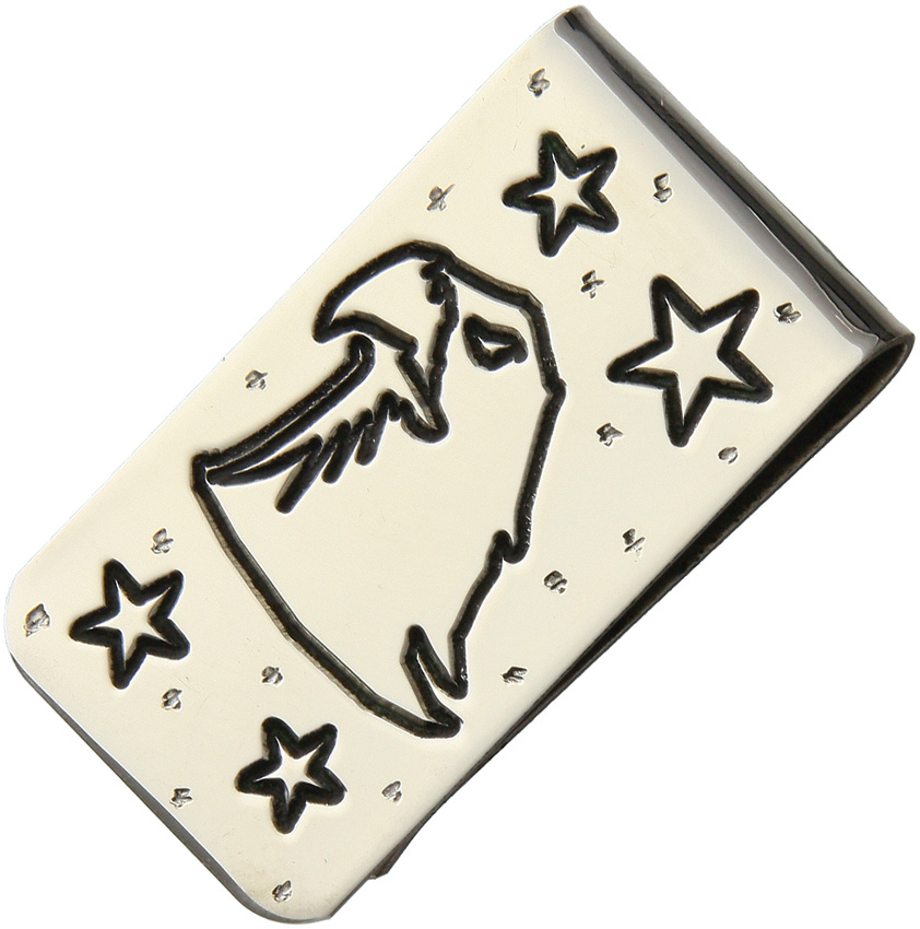 YH228 Yellowhorse Custom Money Clip Bald Eagle