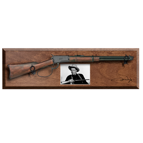 JW304D Replica John Wayne Loop Lever Rifle Frame Set - Dark Stain