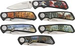 AH500 American Hunter Wildlife Six Piece Pocket Knife Set