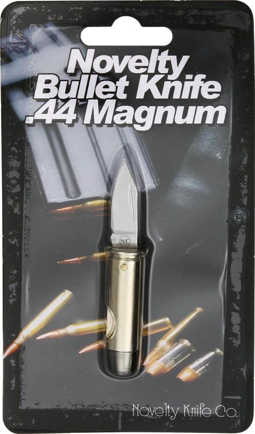 Nv265 Novelty Cutlery 44 Magnum Bullet Knife