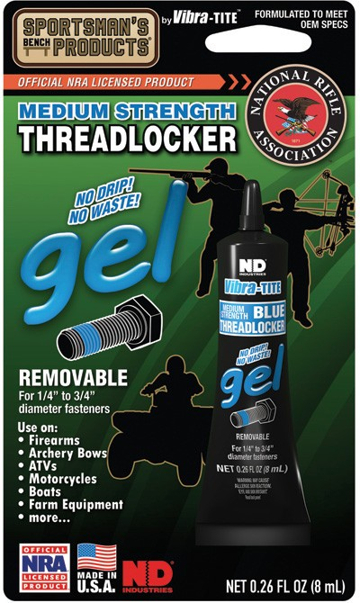 SBP00033 Sportsmans Threadlocker Gel