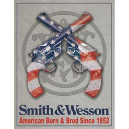 TSN1465 Tin Sign - Smith & Wesson
