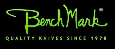 Znalezione obrazy dla zapytania benchmark knives logo