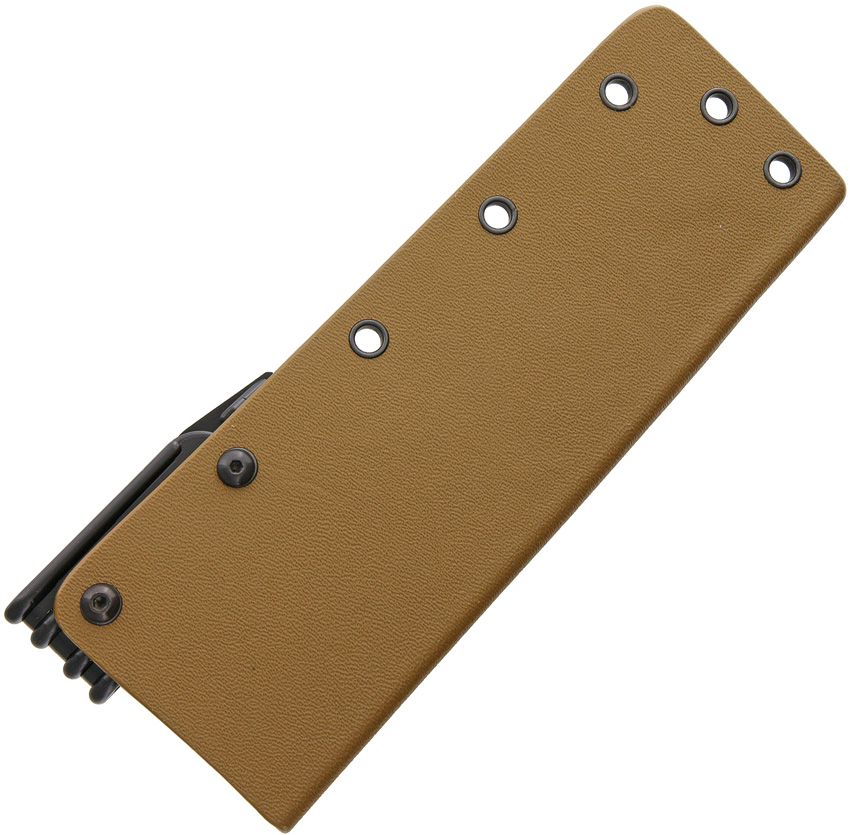 ABASK34TAN Armory Plastics LLC Do It Yourself Kydex Knife Sheath