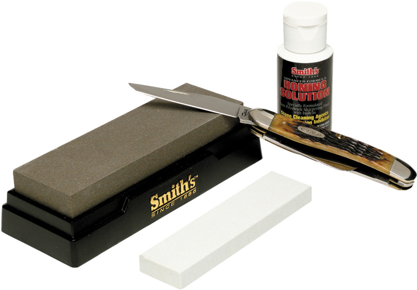 AC165 Smiths Two Stone Sharpening Kit