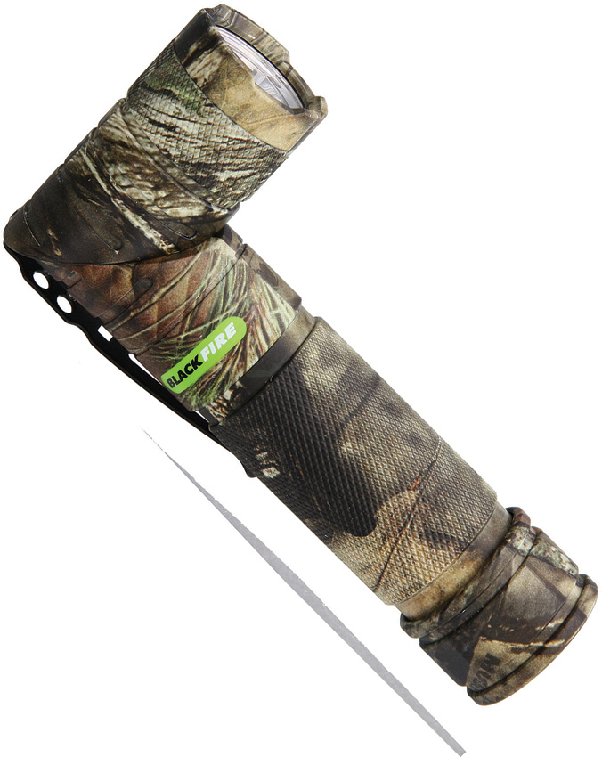 BBM980MO Blackfire Twist Flashlight Mossy Oak