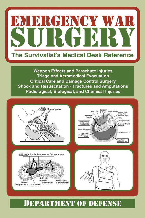 BK272 Book - Emergency War Surgery