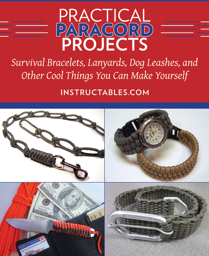 BK298 Book - Practical Paracord Projects Book