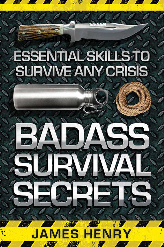 BK316 Book - Badass Survival Secrets
