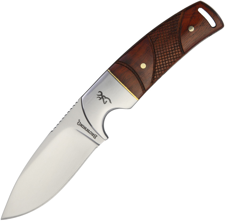 BR0229 Browning Fixed Blade Knife Cocobolo