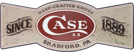 CA50125 Case Cutlery Bowtie Tin Sign