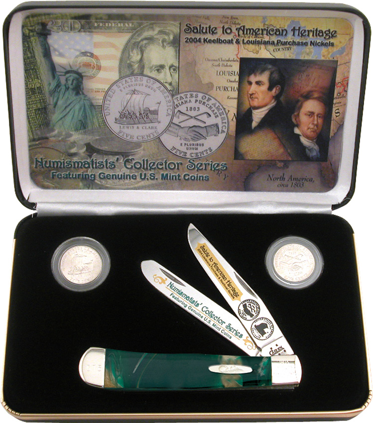 CALPCE Case Louisiana Purchase Trapper Knife