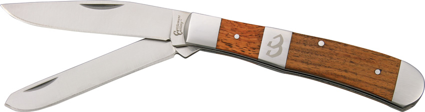 CC0002RW2 Cattleman's Cutlery Stockyard Trapper Pocket Knife