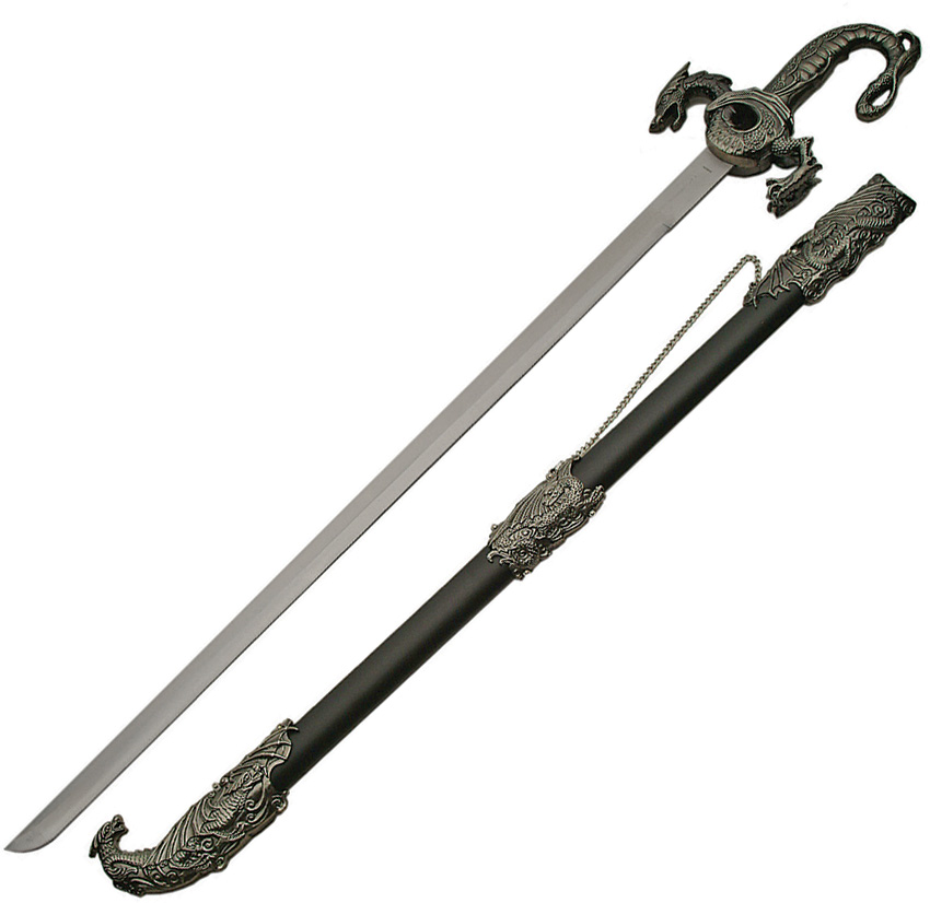 CN926916 Dragon Sword with Scabbard