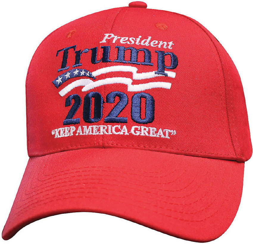 CPS43956 Donald Trump Re-Election Trump 2020 Hat Red