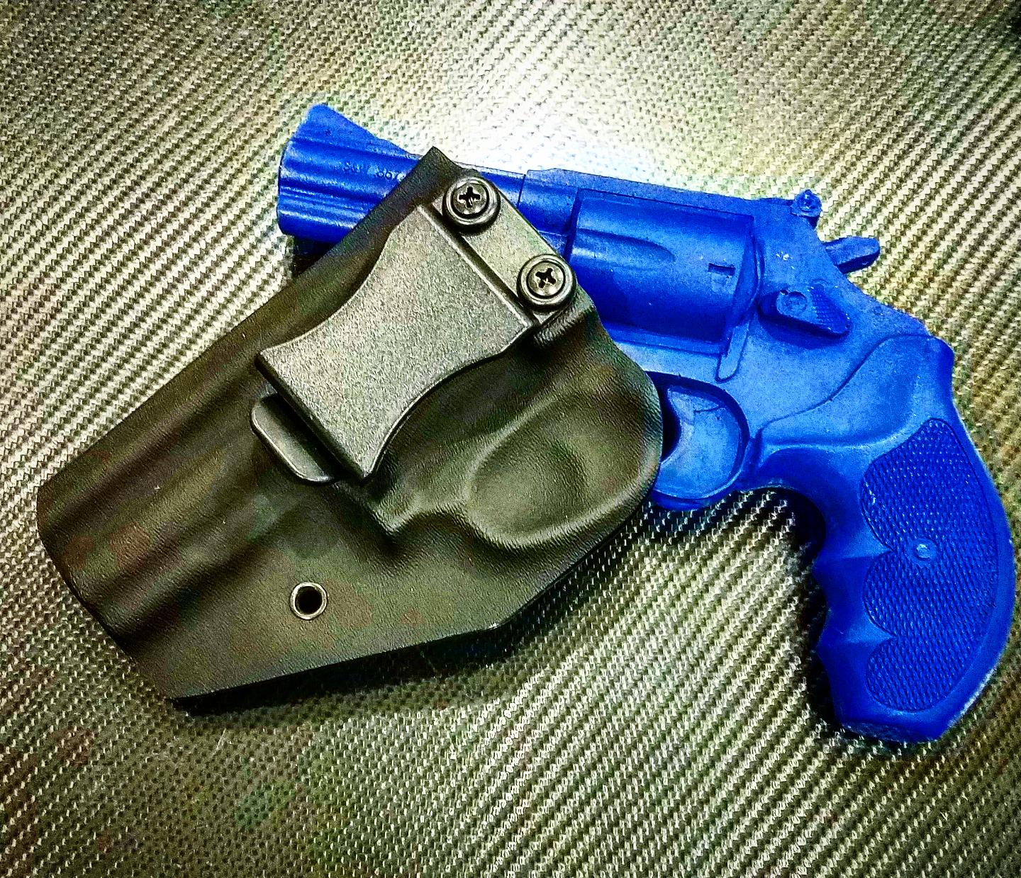 DCTSWM603B Smith & Wesson Model 60  357 Revolver Kydex Holster Right Hand  OWB