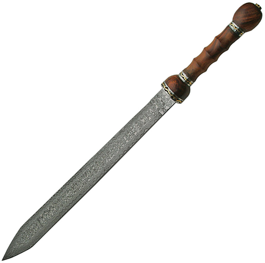 DM5003 Damascus Rosewood Sword