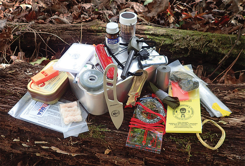 ESLTINKIT ESEE Large Tin Survival Kit