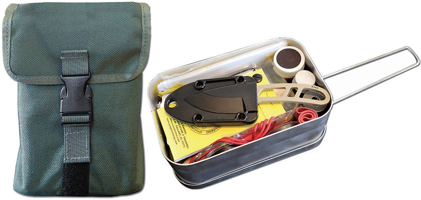 ESLTINKITOD ESEE Survival Kit In Mess Tin