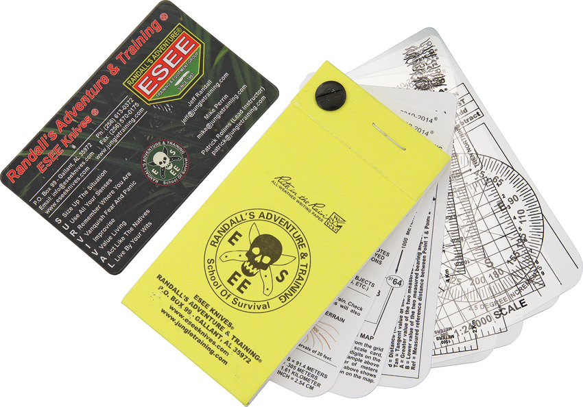 ESPNC ESEE Pocket Navigation Cards