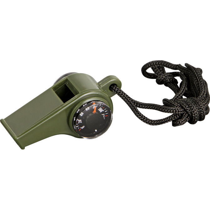 EXP15 Explorer Emergency Whistle with Compass and Celcius Thermometer