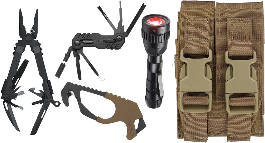 G30000366 Gerber Individual Deployment Tool Kit Brown Sheath