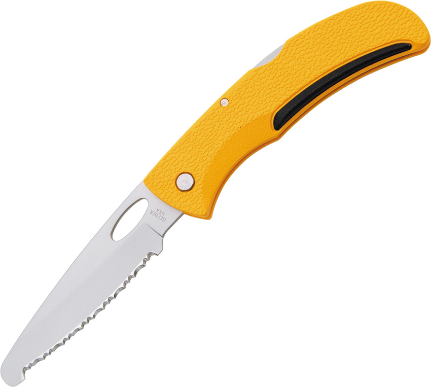 G6971 Gerber E-Z Out Rescue Lockback Pocket Knife