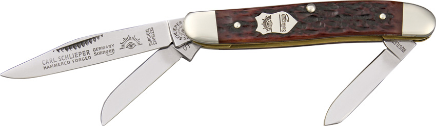 GESS German Eye Premium Stockman Pocket Knife