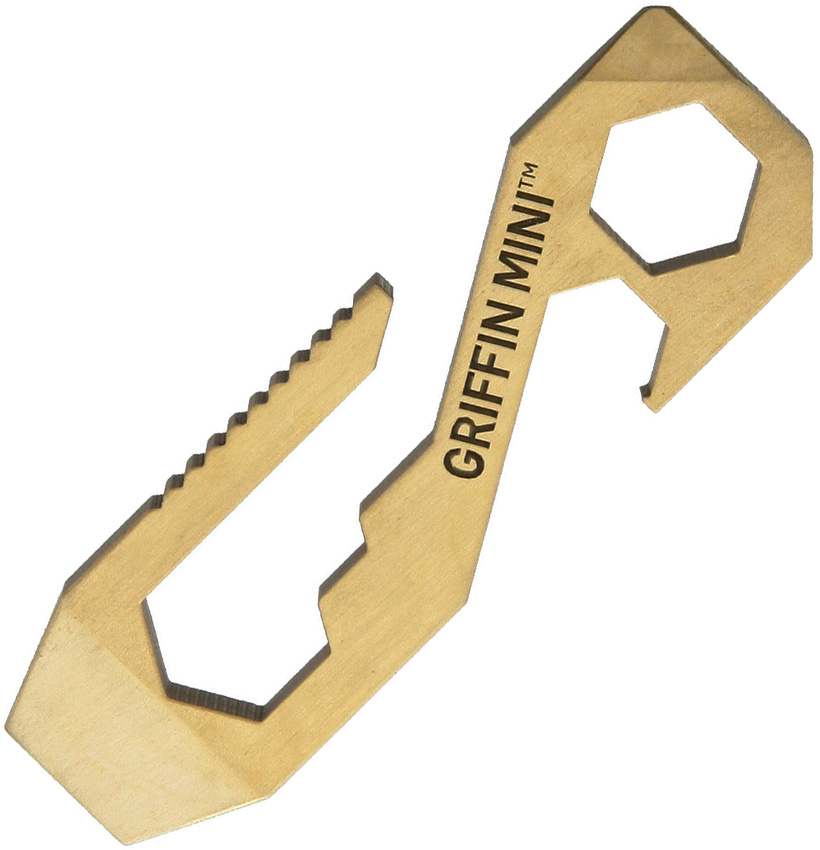 GPTMBR Griffin Pocket Tool GPT Mini Pocket Tool Brass