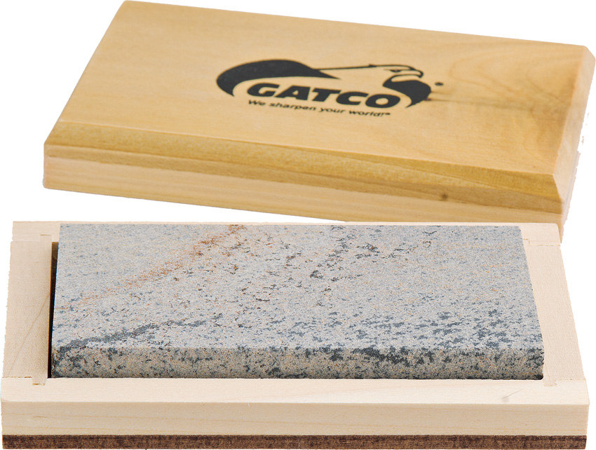 GTC80040 Gatco Natural Arkansas Stone Knife Sharpener