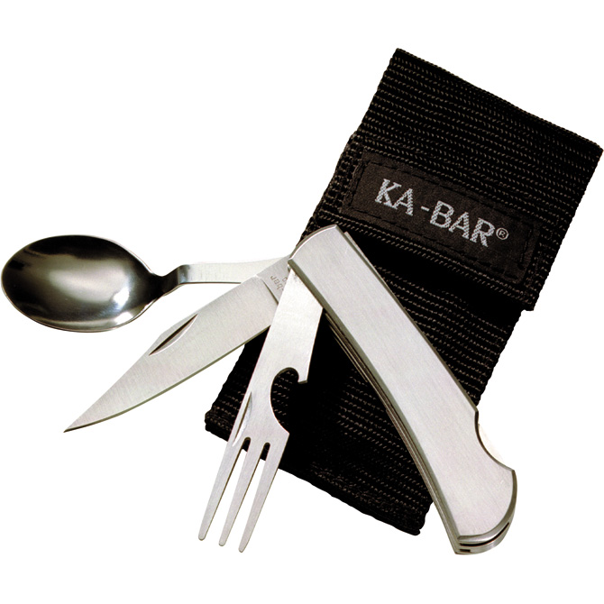 KA1300 Ka-Bar Hobo Outdoor Dining Kit