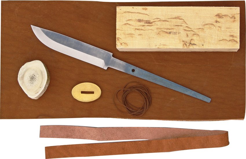 KAR3526 Karesuando Kniven Knife Making Parts Kit