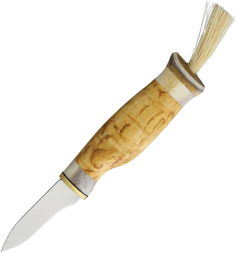 KLKT92 Kellam Mushroom Knife with Antler Handle