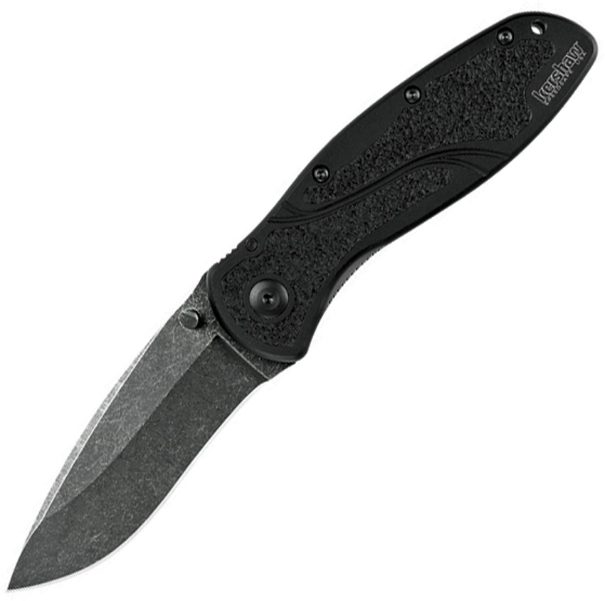 KS1670BW Kershaw Blur Linerlock Pocket Knife A/O Stonewash