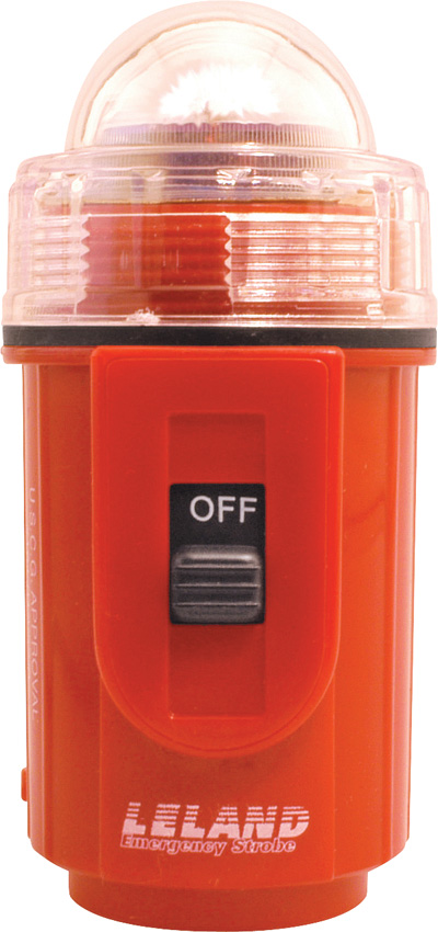 LEL04 Leland Emergency Strobe Light Orange