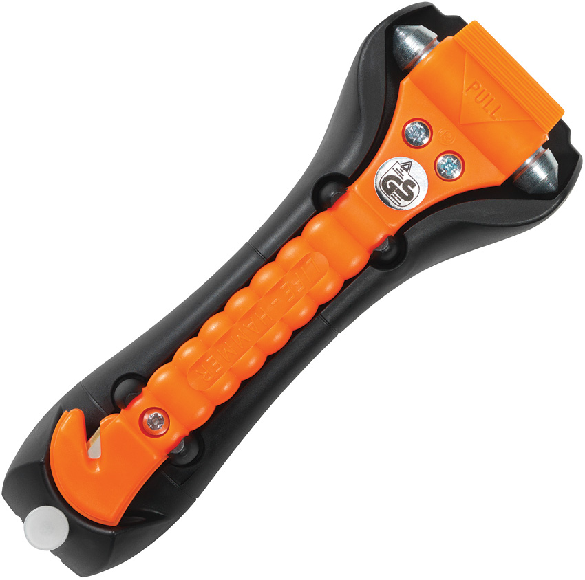 LHR00600 Lifehammer Safety Hammer Classic Auto Escape Tool Orange