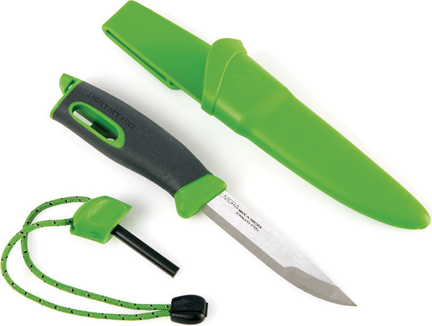 LMF00573 Light My Fire Swedish FireKnife Green